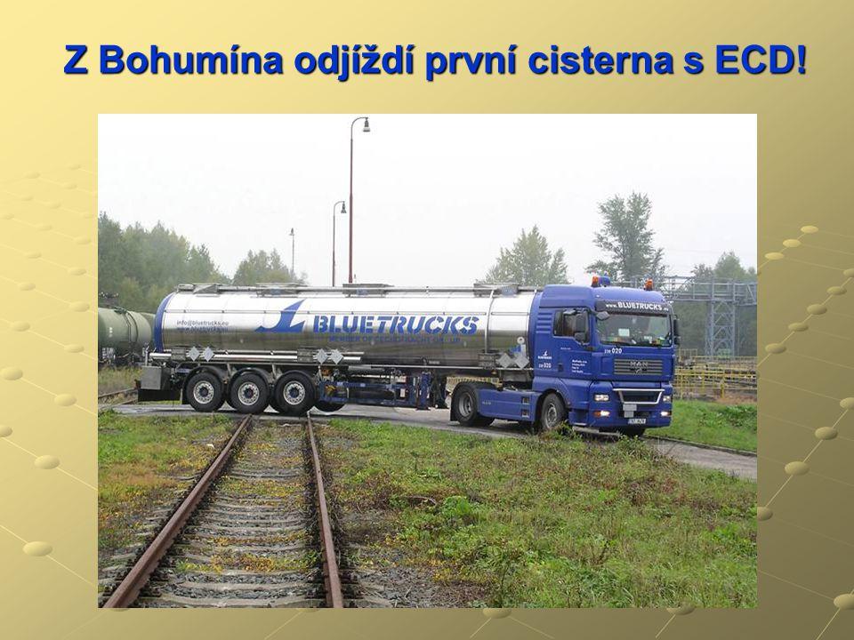 Z Bohumína odjíždí první cisterna s ECD!
