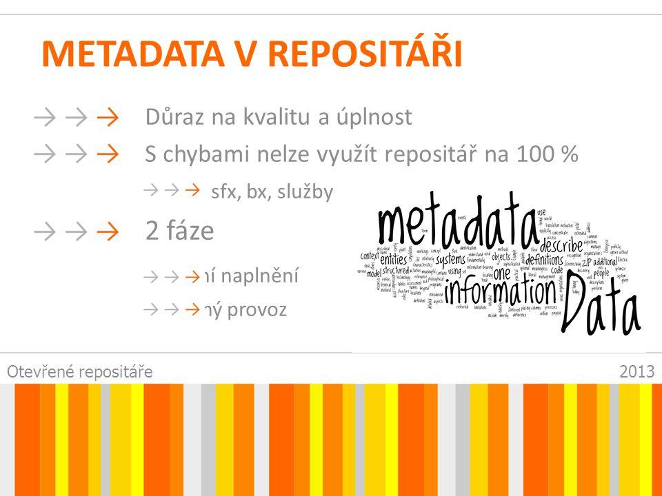 Otevřené repositáře2013 ZMĚNA WORKFLOW (SIDE EFFECT) Aneb jak z toho ven.