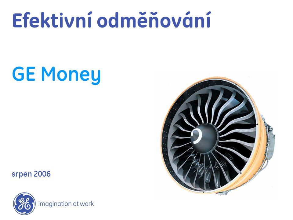 Efektivní odměňování GE Money srpen 2006