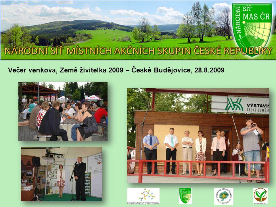 Večer venkova, Země živitelka 2009 – České Budějovice, 28.8.2009