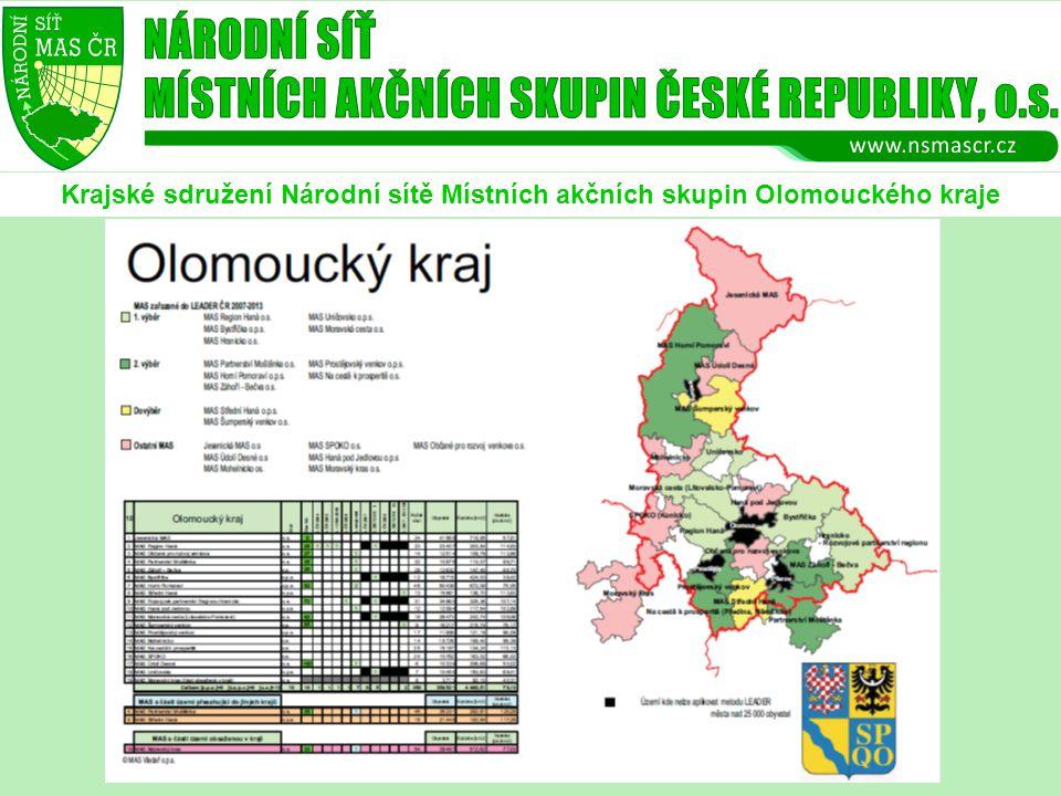 Krajské sdružení Národní sítě Místních akčních skupin Olomouckého kraje