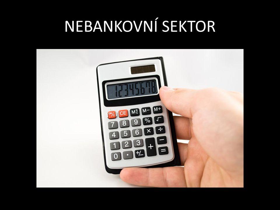 -na trhu působí vedle bankovních subjektů i tzv.
