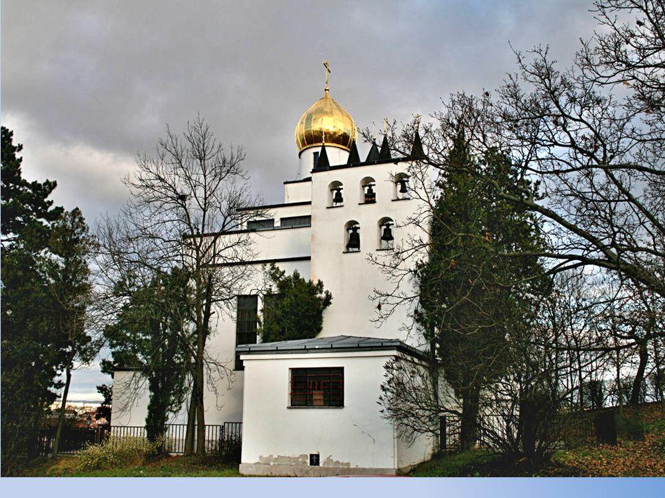 An Gorazdstrasse findet man St.Wenzeslav´s Kirche Chrám Sv. Václava na Gorazdově ulici