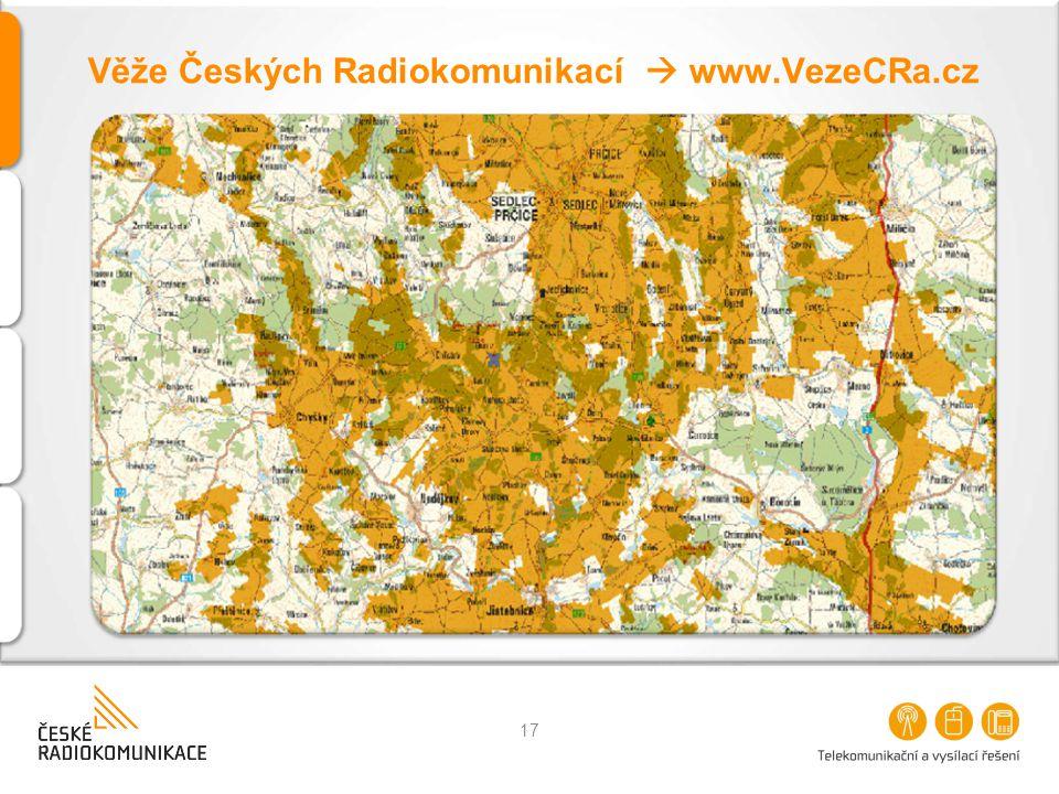 Věže Českých Radiokomunikací  www.VezeCRa.cz 17