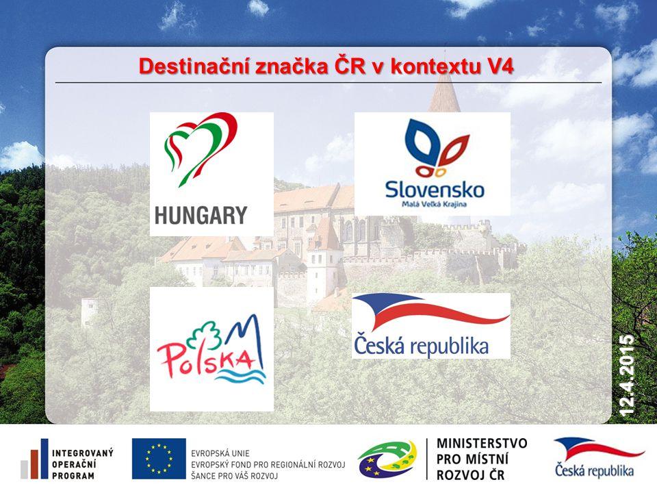 11 12.4.2015 Destinační značka ČR v kontextu V4