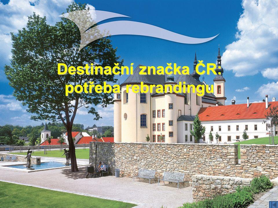 Destinační značka ČR: potřeba rebrandingu