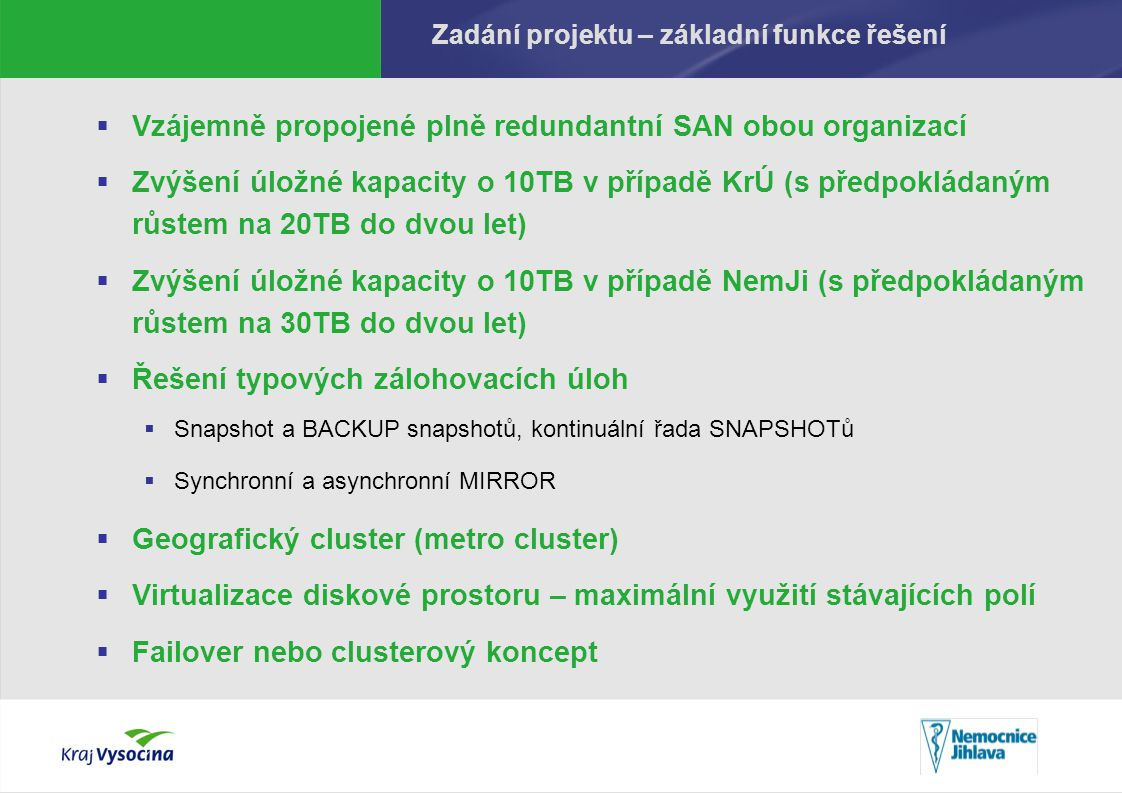 Popis stavu před realizací projektu