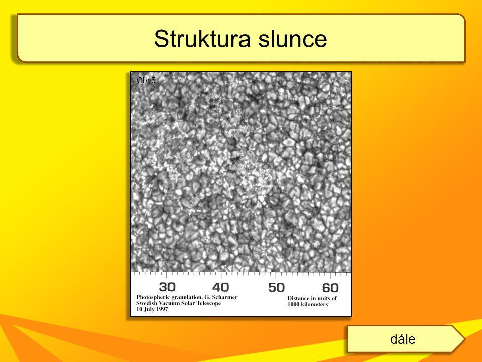 Struktura slunce dále Obr.5