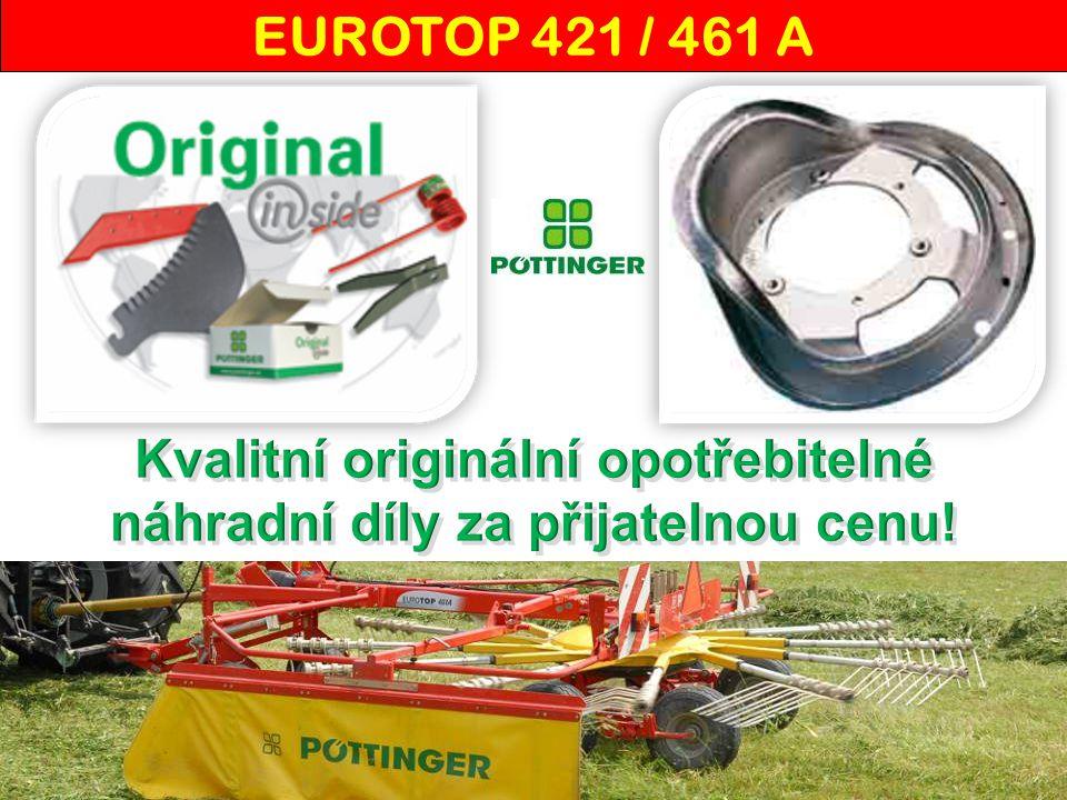 """""""Od firmy Pöttinger máme od roku 2008 šestirotorový obraceč HIT 690 N a tažený shrnovač EUROTOP 461 A."""
