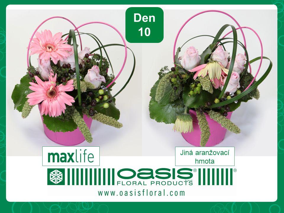 Maximalizuje možnou životnost velkého množství květin, obzvlášť růží a problematických květin.