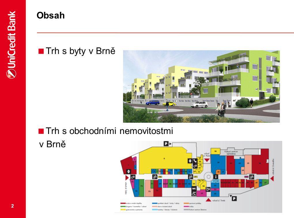 2 Obsah  Trh s byty v Brně  Trh s obchodními nemovitostmi v Brně