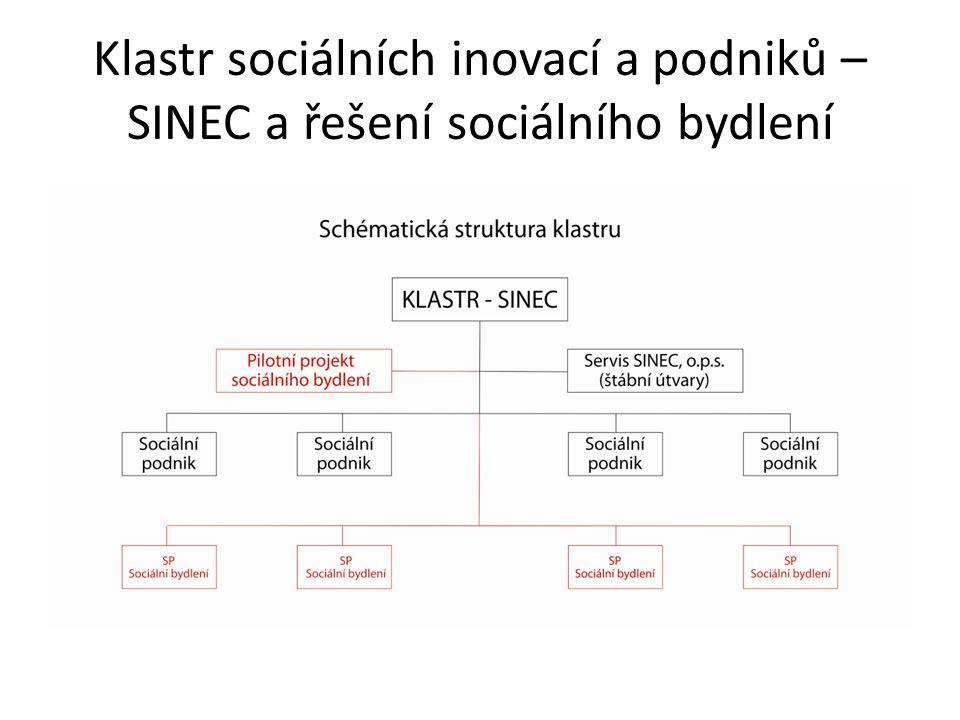 Klastr sociálních inovací a podniků – SINEC a řešení sociálního bydlení