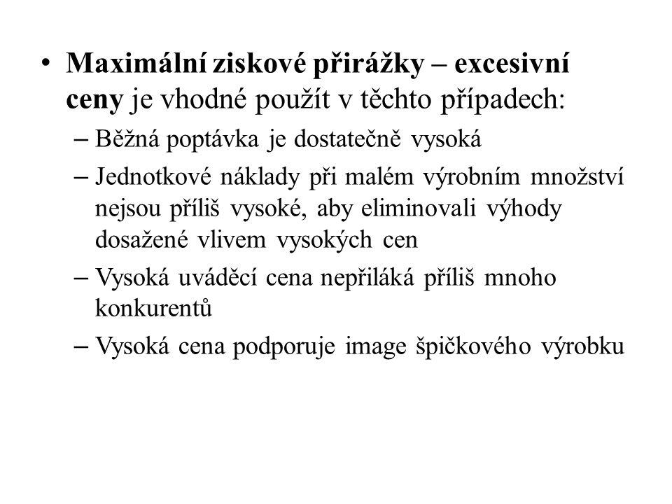 Kvalita/CenaVysokáStředníNízká Vysoká 1.prémiová taktika 2.