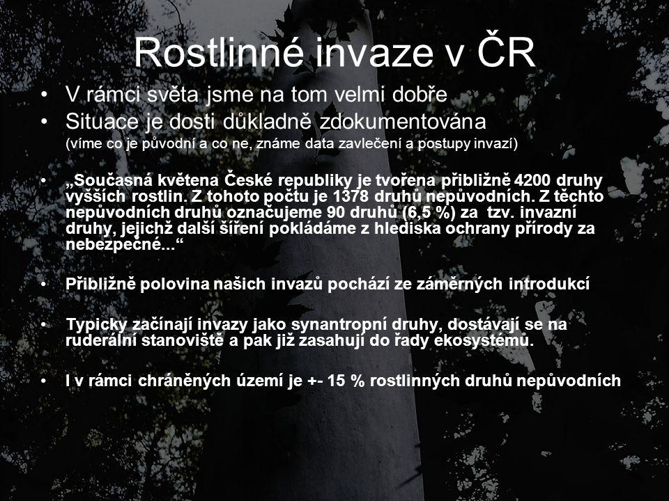 Invazní rostliny v ČR