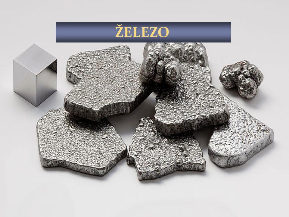 Železo se vyrábí zpracováním železné rudy v hutích. V železárnách se vyrábí kusové železo Ve válcovnách se vyrábí za horka různé dráty a pružiny V drá