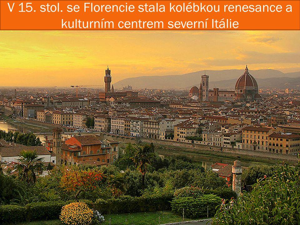  Donatello byl florentský sochař a umělec rané renesance.