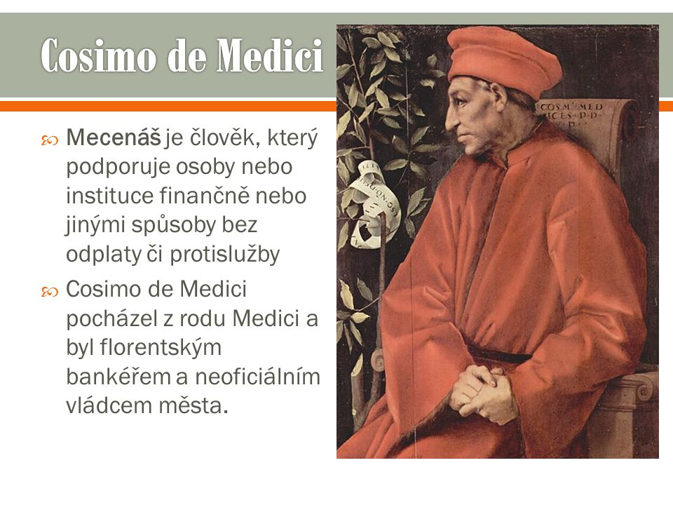  V další generaci mezi sochaři pak stojí v popředí jména jako Andrea del Verrocchio, v jehož dílně se vyučil Leonardo da Vinci.