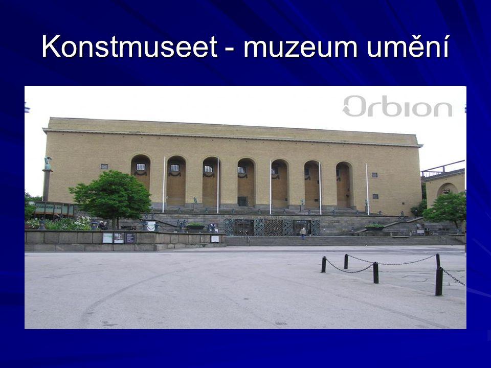 Konstmuseet - muzeum umění