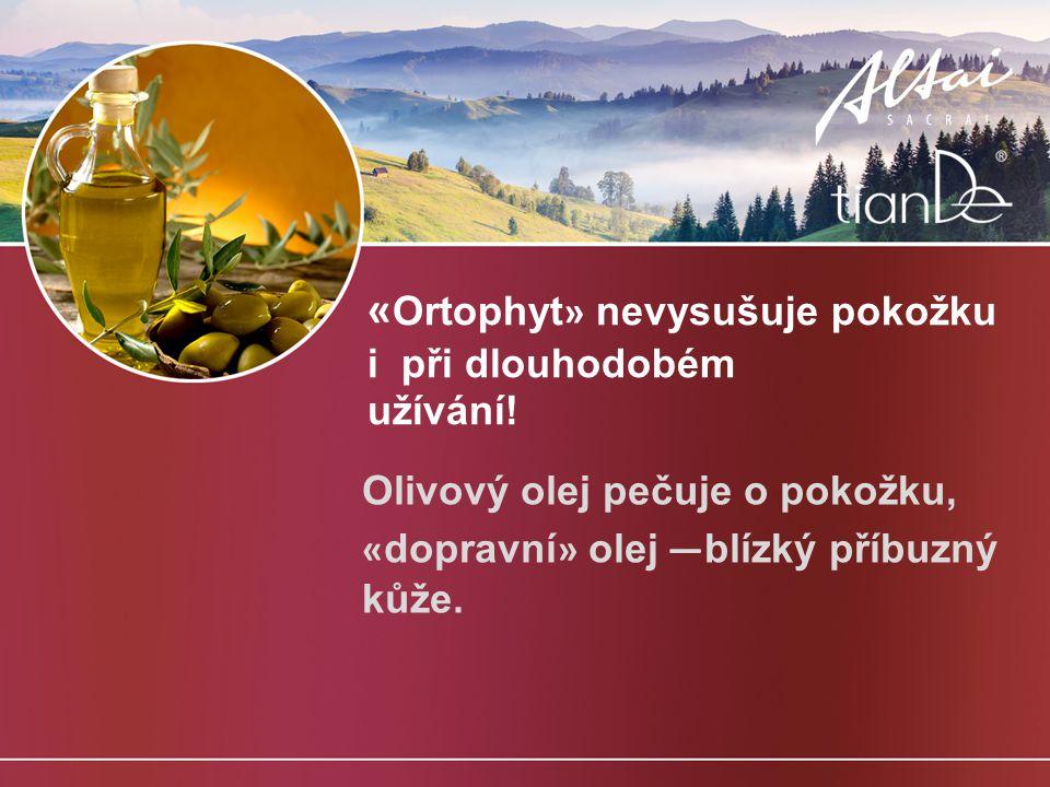 « Ortophyt » nevysušuje pokožku i při dlouhodobém užívání.
