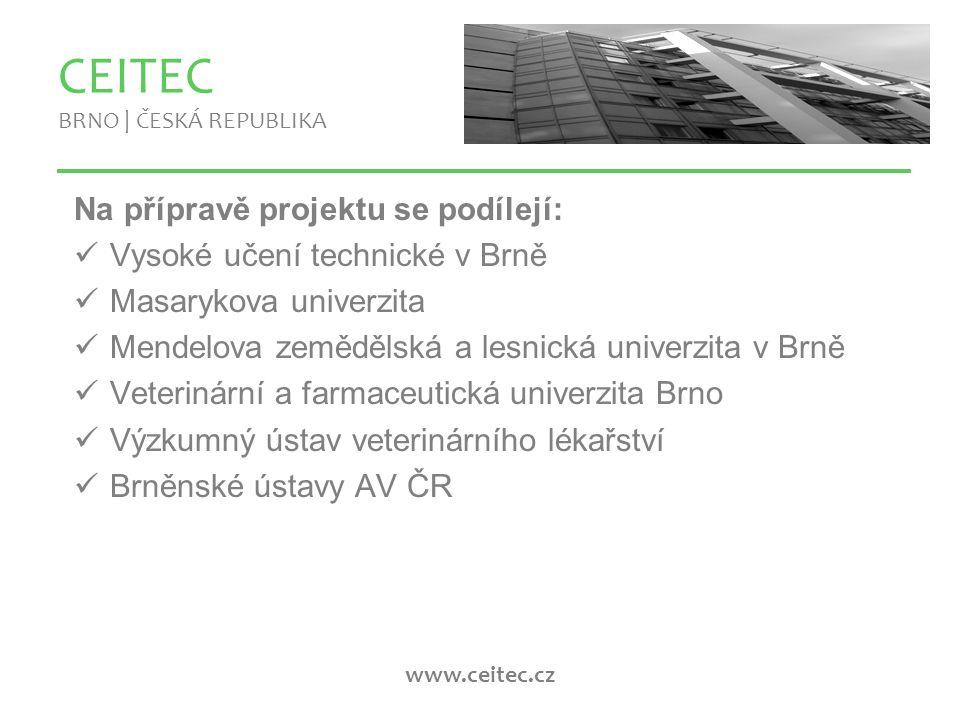 www.ceitec.cz Co bude CEITEC tvořit.