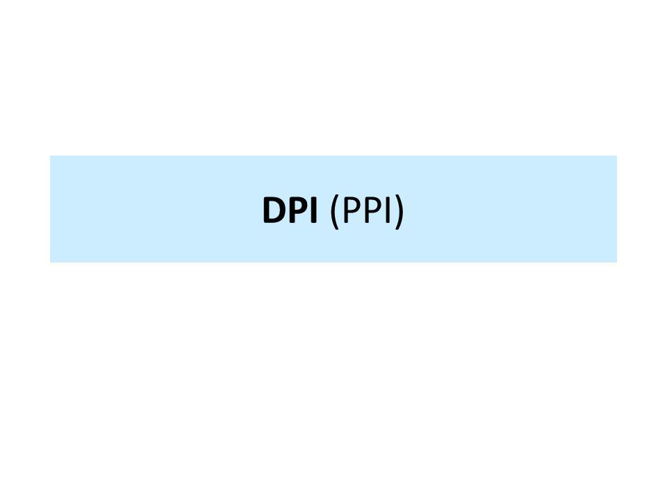 DPI (PPI)