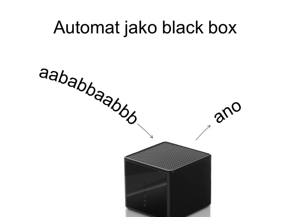 Automat jako black box
