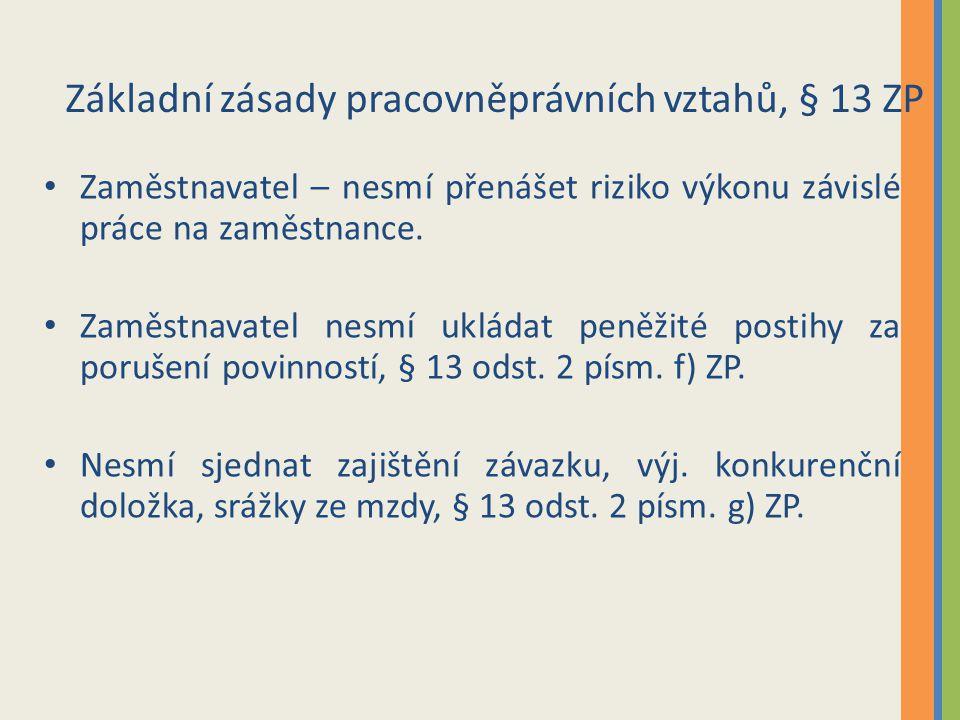 Odměňování za práci Část šestá zákoníku práce, z.č.