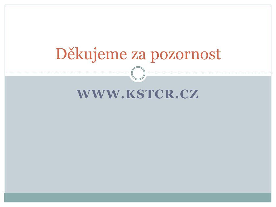 WWW.KSTCR.CZ Děkujeme za pozornost