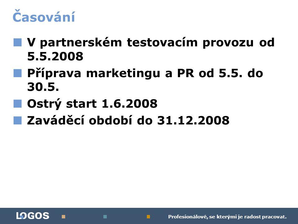 Profesionálové, se kterými je radost pracovat. ■ V partnerském testovacím provozu od 5.5.2008 ■ Příprava marketingu a PR od 5.5. do 30.5. ■ Ostrý star