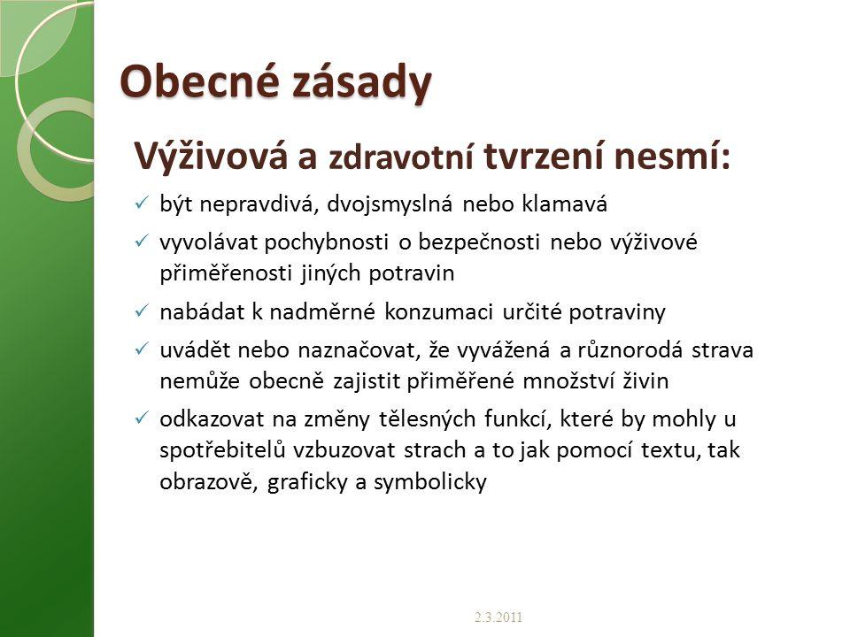 Situace po přijetí seznamu tvrzení podle čl.