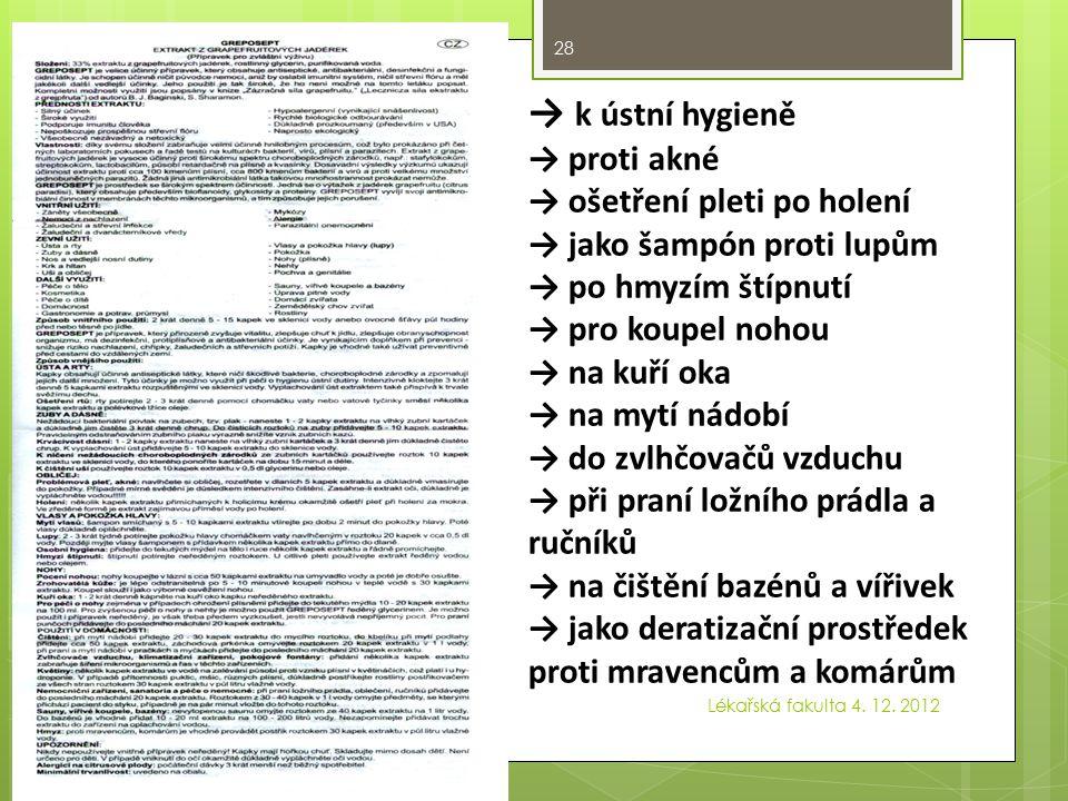 Tight Xtreme přítomnost johimbinu povinné údaje nejsou uvedeny v českém jazyce Lékařská fakulta 4.