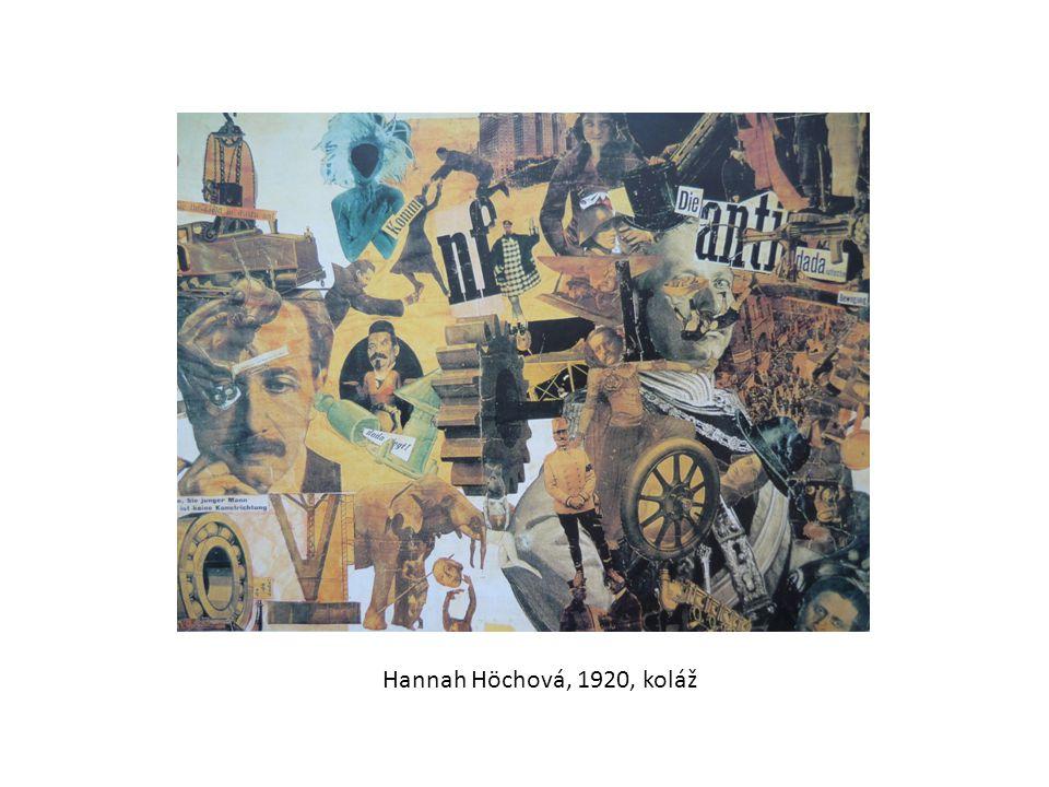 Hannah Höchová, 1920, koláž
