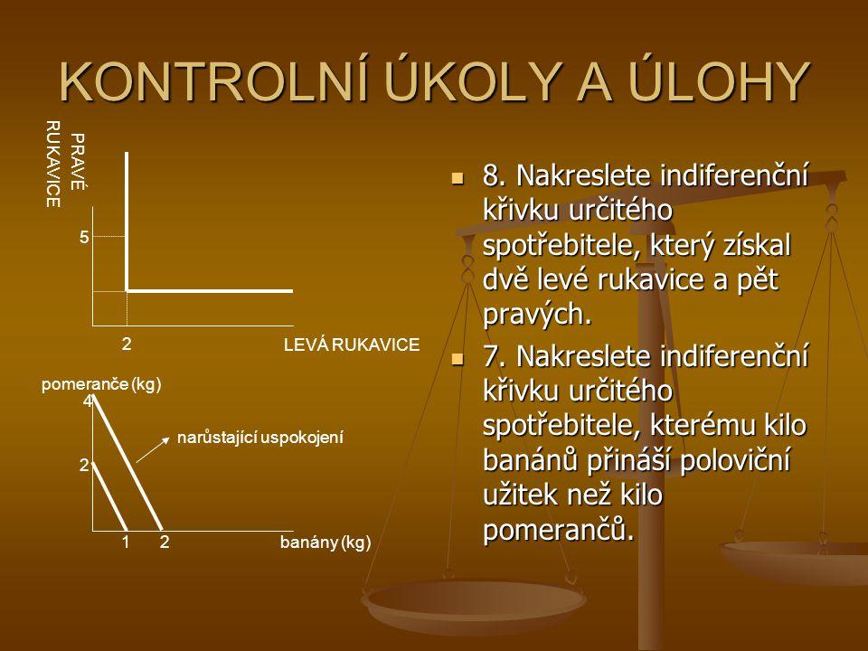 KONTROLNÍ ÚKOLY A ÚLOHY 8.