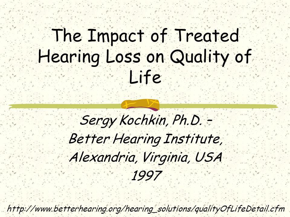 Dopady na zdraví Otázky: Má sluchová vada vliv nejenom na psychické a sociální zdraví, ale také na zdraví fyzické ?