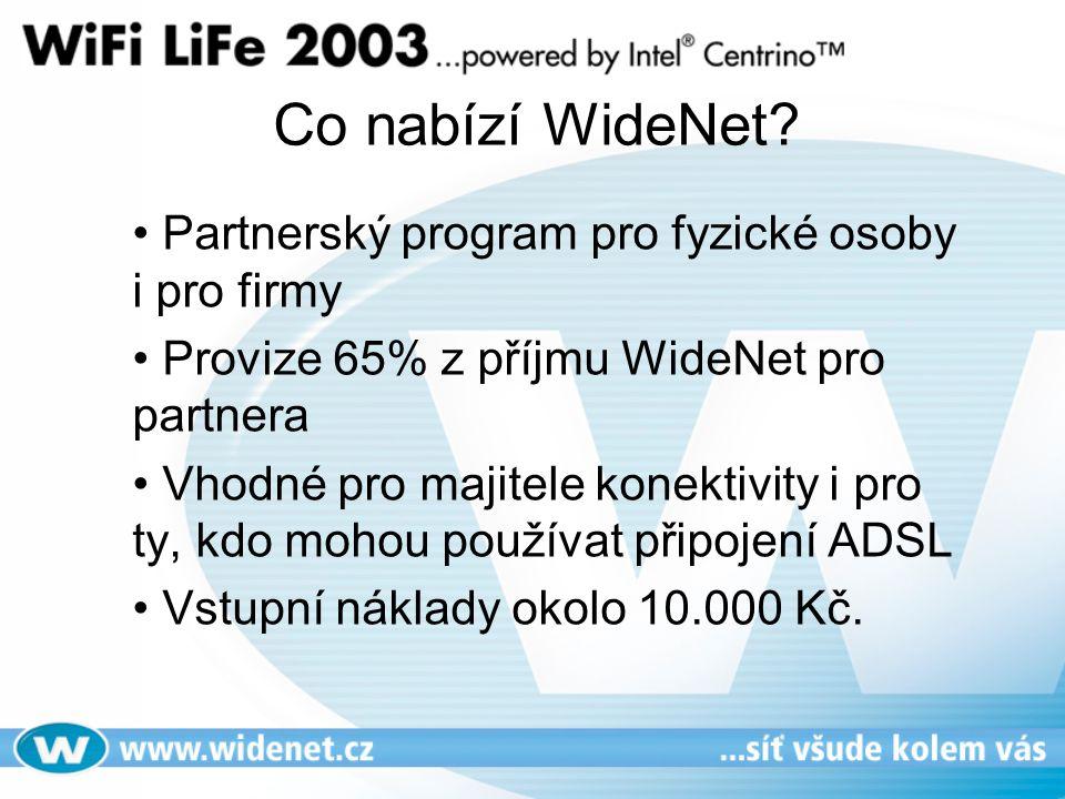 Co nabízí WideNet.
