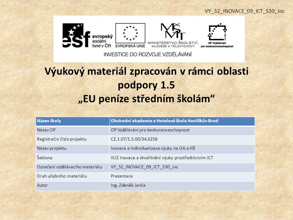 Použitá literatura a zdroje: ROUBAL, Pavel.