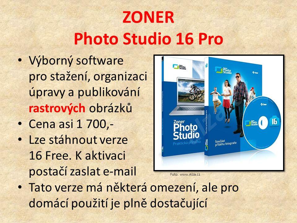 Rastrové a vektorové editory FREE verze Existuje celá řada lepších nebo horších editorů k volnému použití, tedy freeware Některé umožňují i práci s vrstvami, společné ale mají to, že nepodporují barvy CMYK, nehodí se tedy pro profesionální práci Vektorové - Zoner Callisto 5 free - Inkscape Rastrové- IrfanView- Malování - PhotoFiltre- Gimp2 - Zoner Photo Studio 16 free