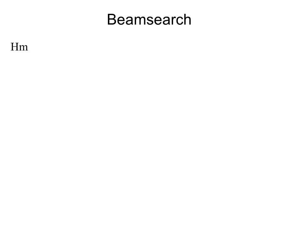 Beamsearch Hm