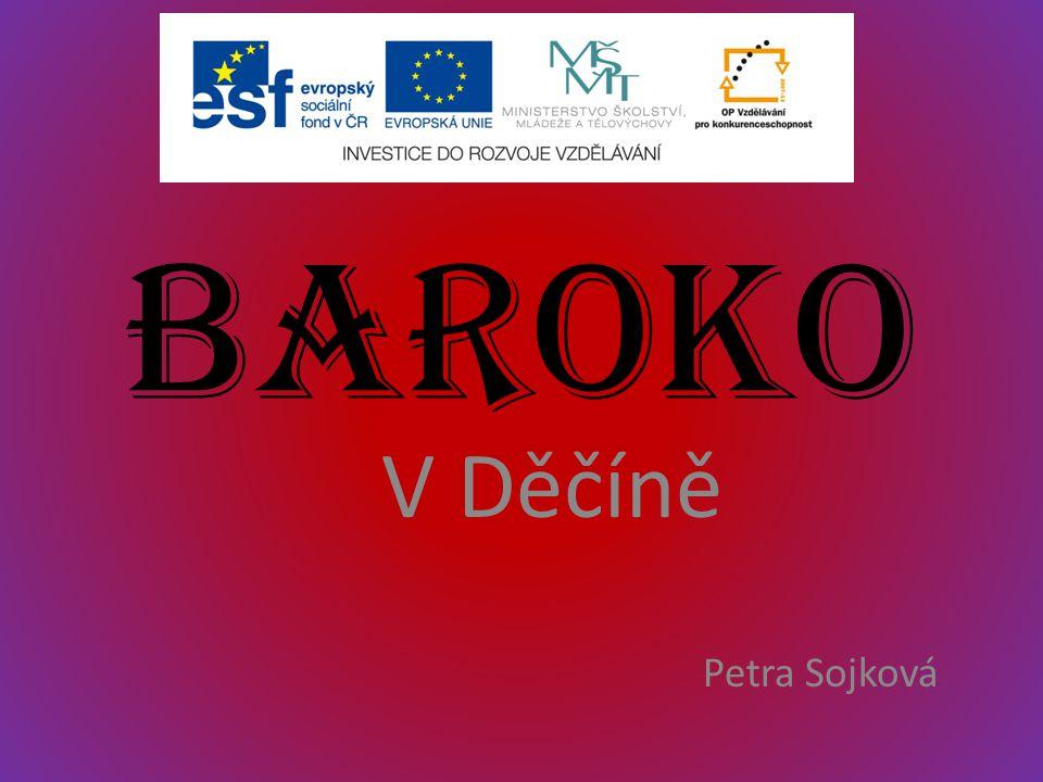 Baroko V Děčíně Petra Sojková