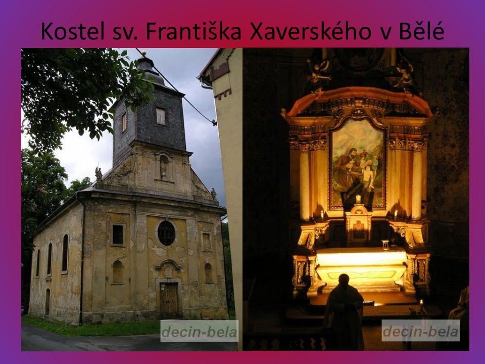 Kostel sv. Františka Xaverského v Bělé