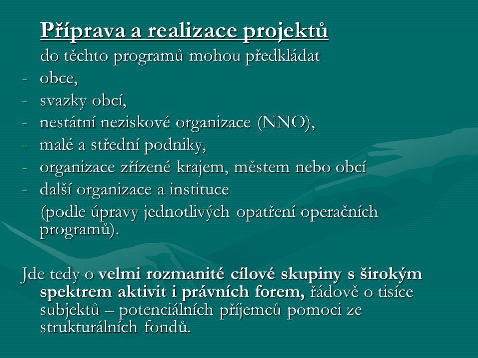 1.Partnerství období IV/2004-IV/2007období IV/2004-IV/2007 Tvorba územních (min.10, napříč cíl.