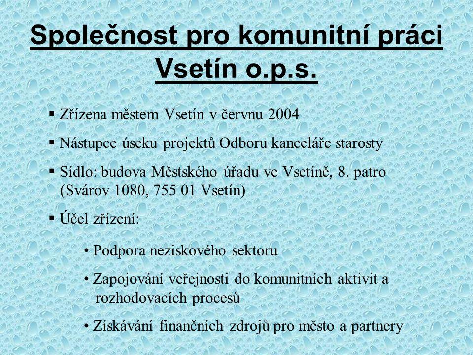 Společnost pro komunitní práci Vsetín o.p.s.