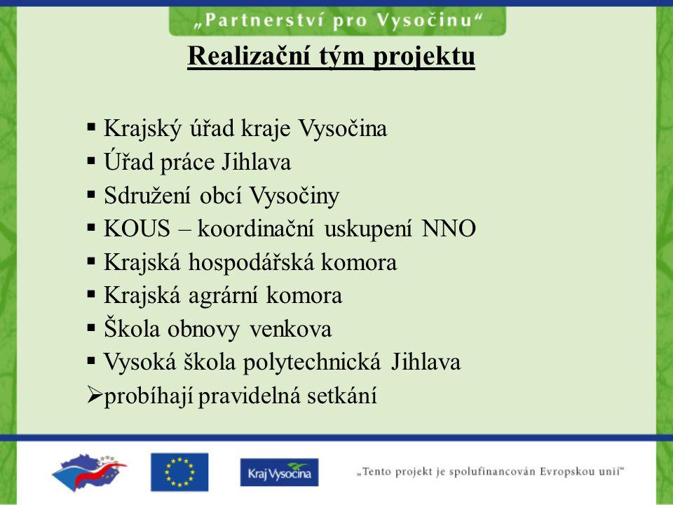 Regionální operační plán MOP 15 ORP + projekty kraje Vysočina komunitní plánování + expertní strategie integrované projekty návrh priorit rozvoje kraje Vysočina (provázanost s PRK) podklad pro tvorbu Regionálního operačního programu NUTS II Jihovýchod a vyjednávání s EK