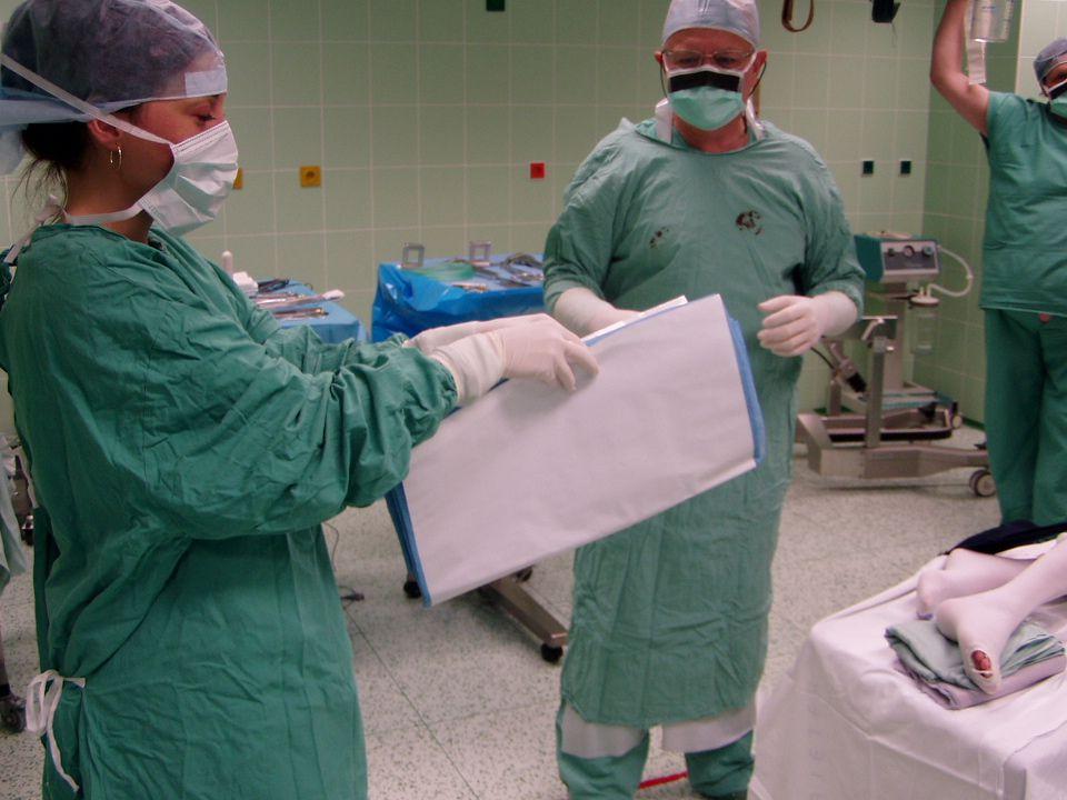 Set na hrudní operaci 1 x kardiovaskulární rouška