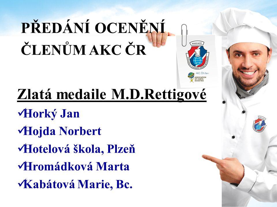 PŘEDÁNÍ OCENĚNÍ ČLENŮM AKC ČR Čestná uznání Za pomoc při rozvoji AKC ČR v regionu Pach Václav