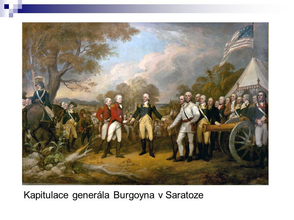 Kapitulace generála Burgoyna v Saratoze