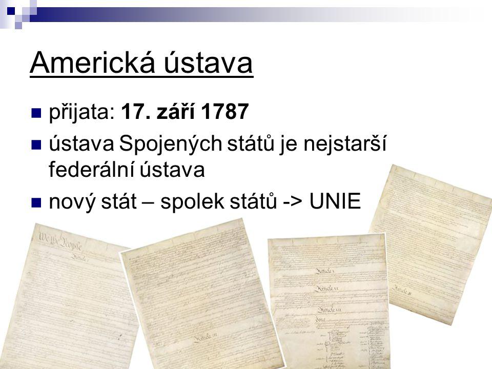 Americká ústava přijata: 17.