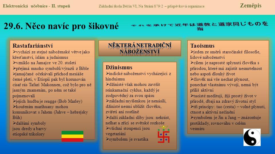 29.7.The Religion in Simple English Elektronická učebnice - II.