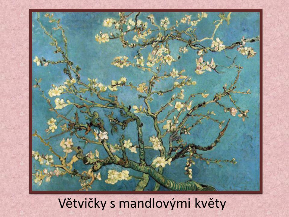 Větvičky s mandlovými květy