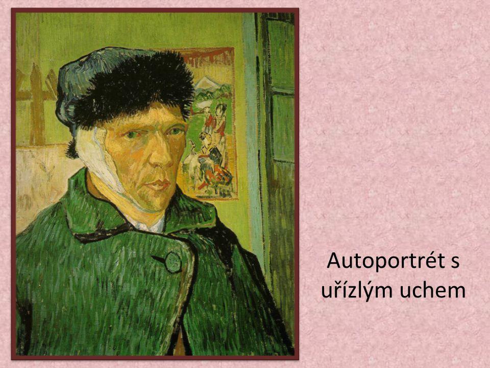 Autoportrét s uřízlým uchem